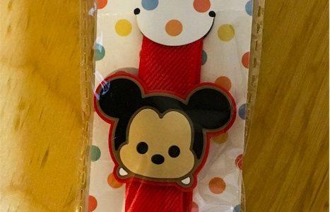 幼稚園準備〜百均でミッキーのお弁当箱を止めるバンド発見〜