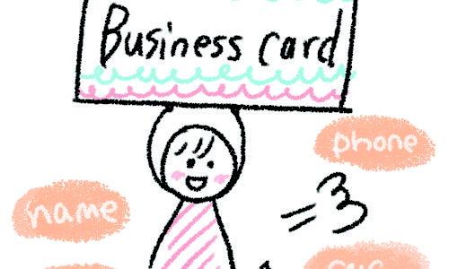 早くて安い「マヒトデザイン」さんで名刺を作成してみた